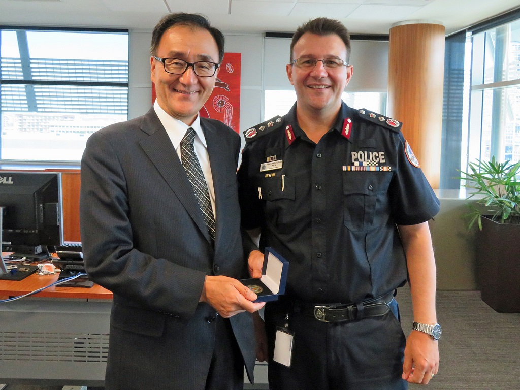 Consul-General Takewaka visits Darwin 2