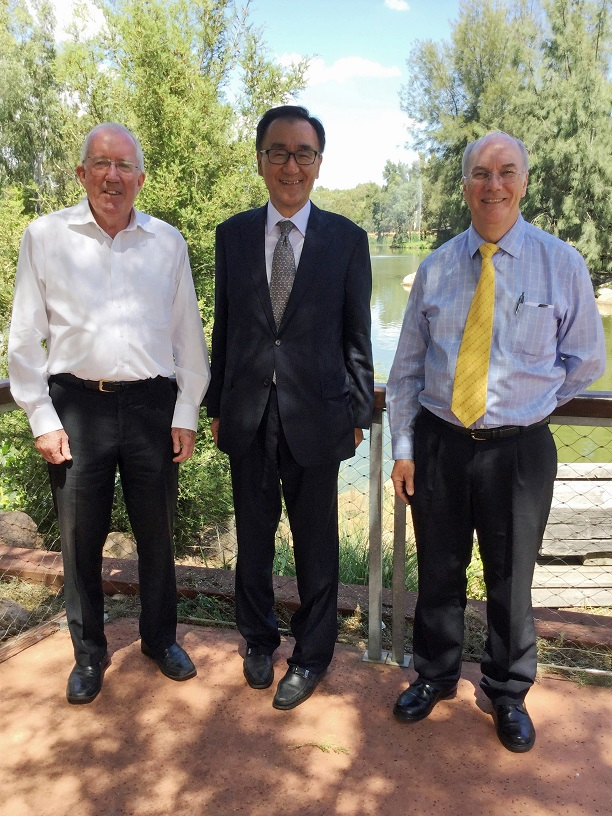 Consul-General Takewaka visits Dubbo 1