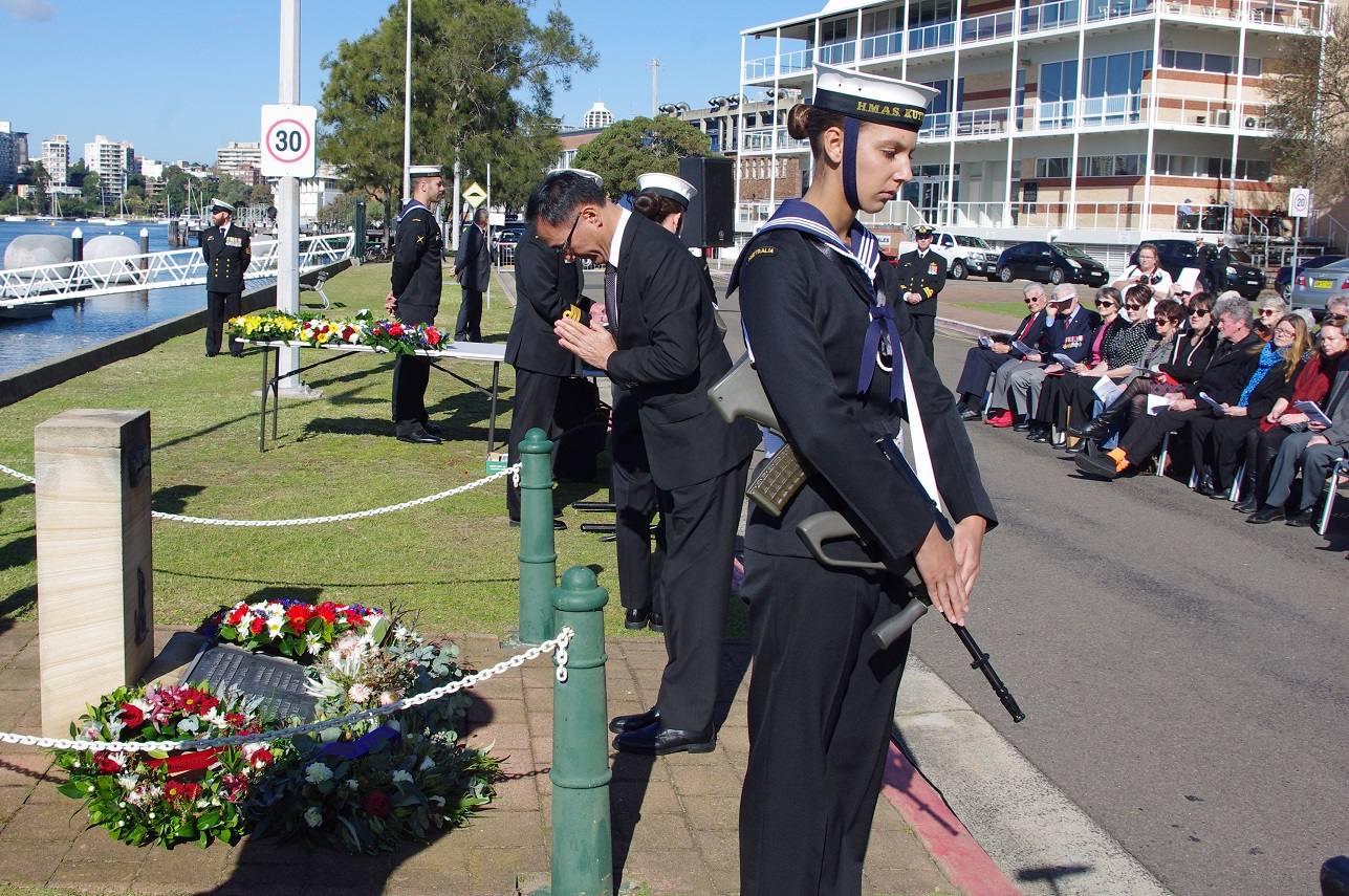 75th Anniversary Memorial Service for HMAS Kuttabul 1