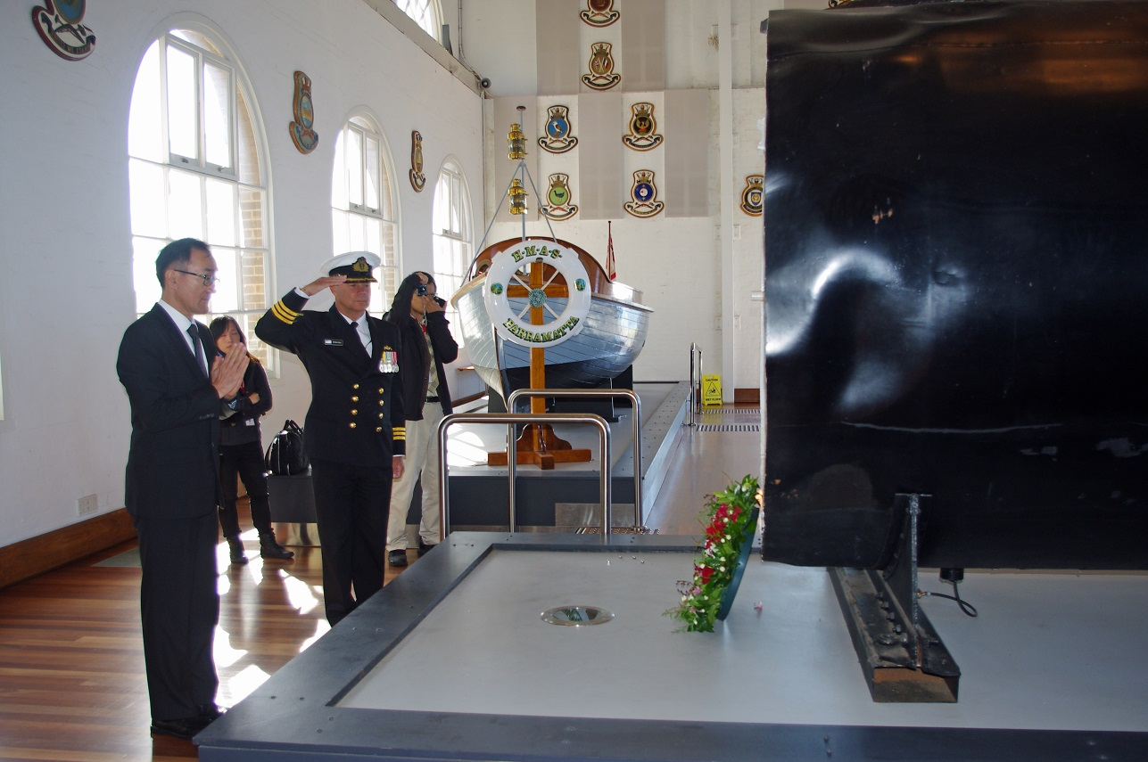 75th Anniversary Memorial Service for HMAS Kuttabul 3