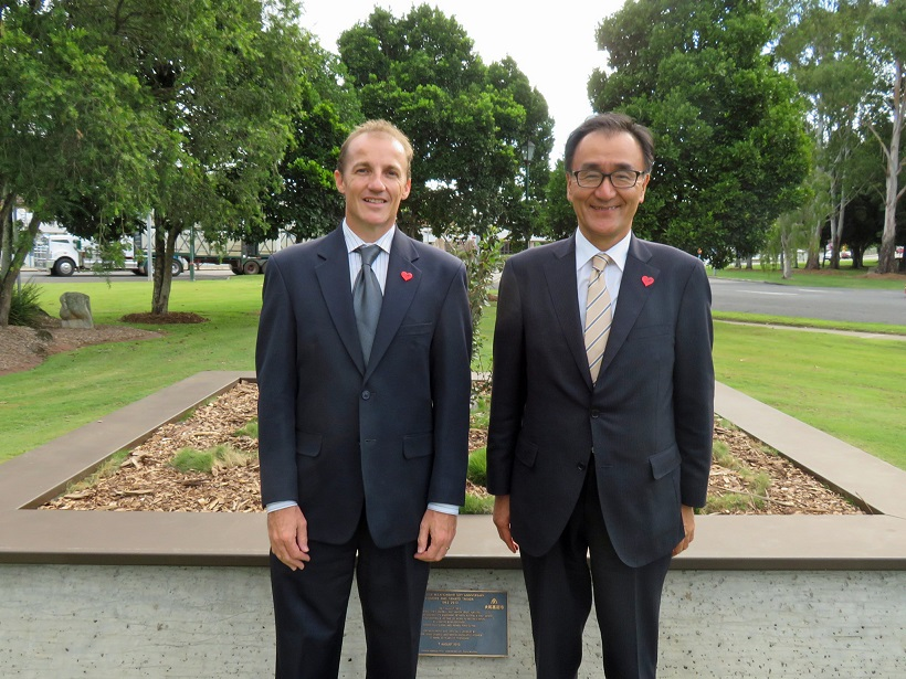 Consul-General Takewaka visits Lismore 1