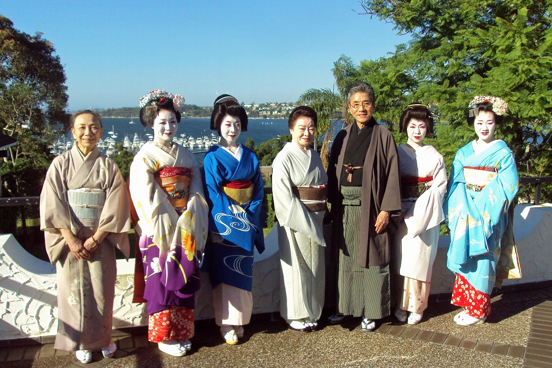 An evening with Geiko and Maiko from Gion, Kyoto 1