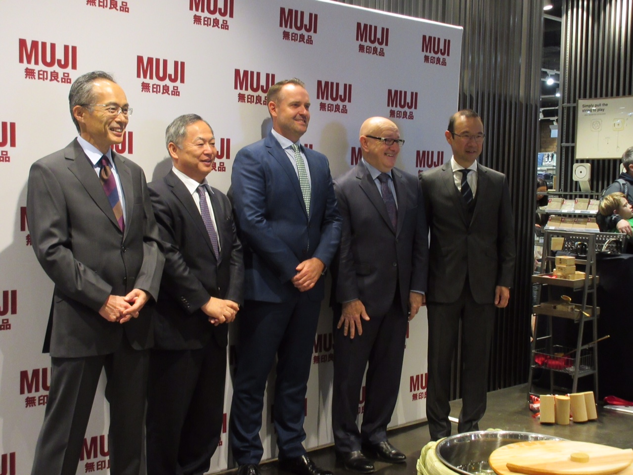MUJI Sydney - Official Opening Ceremony 1