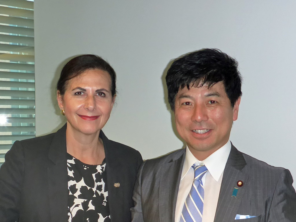 State Minister for Foreign Affairs Mr Kazuyuki Nakane visits Sydney 1