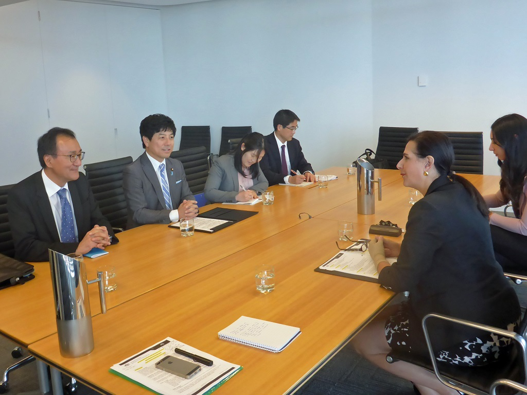 State Minister for Foreign Affairs Mr Kazuyuki Nakane visits Sydney 2