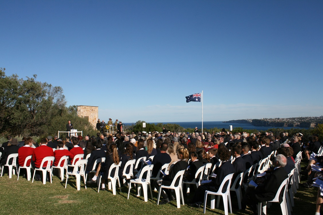 Memorial Service for the 74th Anniversary of the Attack on Sydney Harbour
