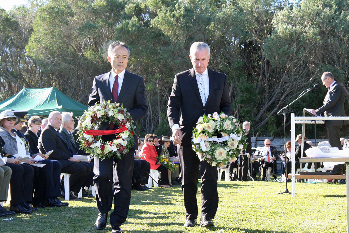 Memorial Service for the 74th Anniversary of the Attack on Sydney Harbour 2